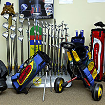 Young Gun junior clubs bags and clothing Golf range Buxton High Peak