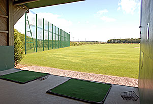 PGA golf tuition held in the private teaching bay